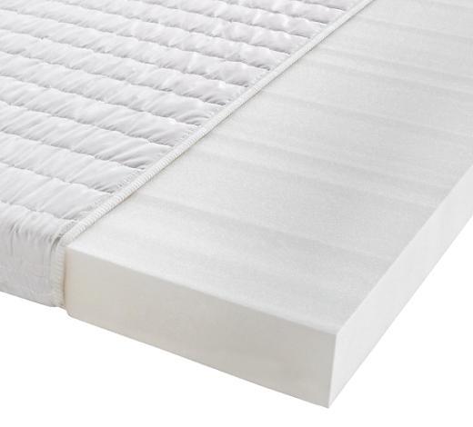 MATRATZE 90/200 cm - Weiß, Basics, Textil (90/200cm) - Sleeptex