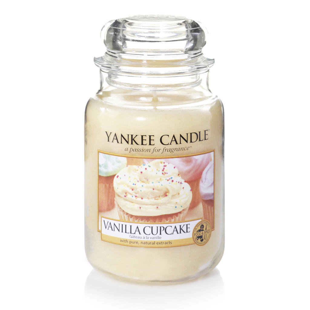 Yankee Candle Duftkerze yankee candle vanilla cupcake