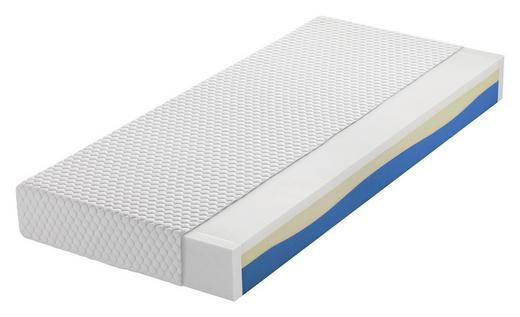 VISCOMATRATZE 140/200 cm - Weiß, Basics, Textil (140/200cm) - NOVEL