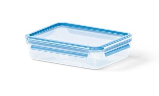 FÖRVARINGSBURK, 1,2L - blå/transparent, Basics, plast (22.6/16.7/5.9cm) - EMSA