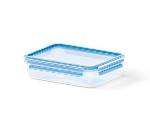 FRISCHHALTEDOSE 1,2 l - Blau/Transparent, Basics, Kunststoff (22.6/16.7/5.9cm) - Emsa