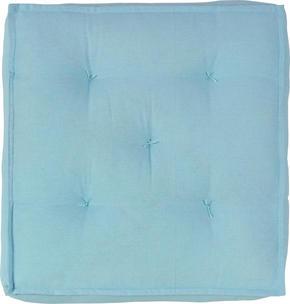 SITTDYNA - turkos, Basics, textil (40/40/10cm) - Boxxx