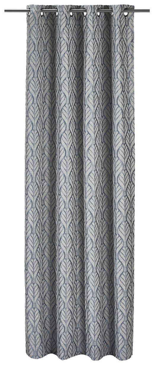 ÖSENSCHAL  Verdunkelung - Blau, Textil (135/245cm)