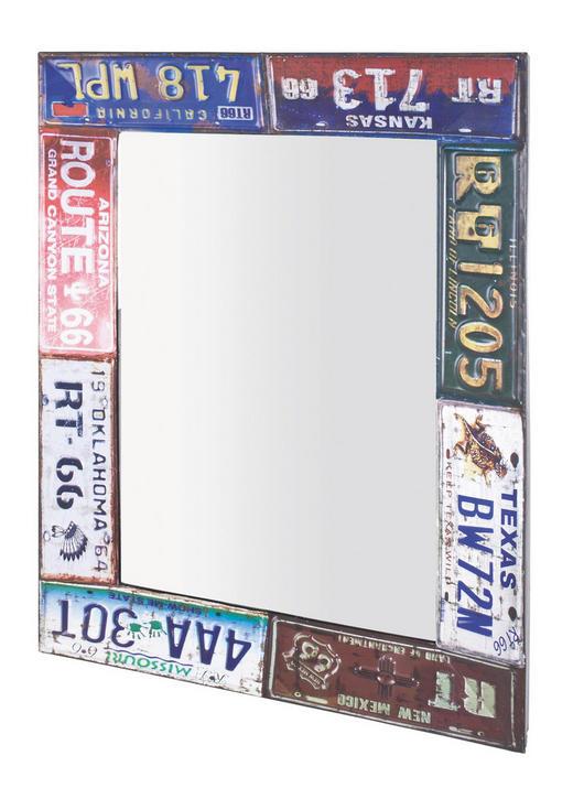 SPIEGEL Multicolor - Edelstahlfarben/Multicolor, Design, Metall (61/81/5cm) - Carryhome