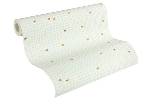 VLIESTAPETE 10,05 m - Beige/Gelb, Design, Textil (53/1005cm)