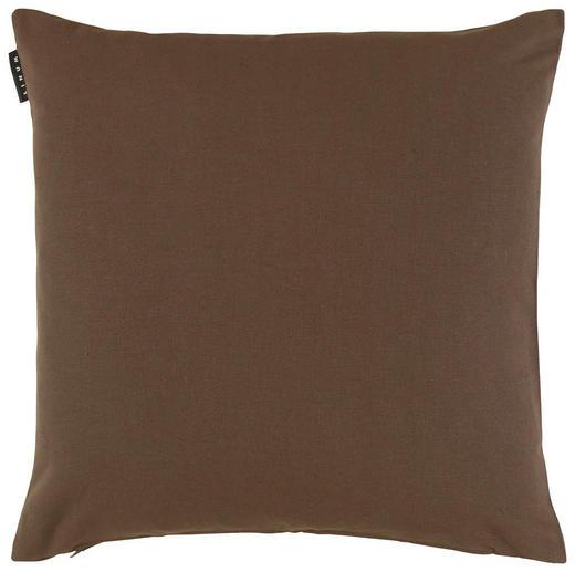 KISSENHÜLLE Braun 50/50 cm - Braun, KONVENTIONELL, Textil (50/50cm) - Linum