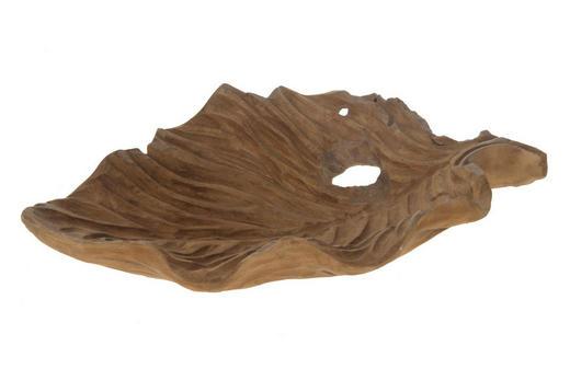 DEKOSCHALE - Teakfarben, LIFESTYLE, Holz (50/33/10cm)