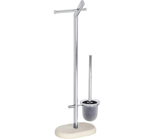 WC SADA - béžová, Konvenční, kov/umělá hmota (29/15,5/72cm)