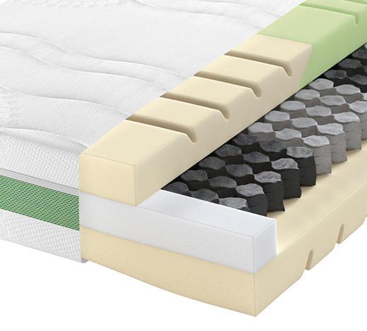 Partnermatratze Taschenfeder ROAD 270 TFK COMFEEL PLUS 180/200 cm 22 cm - Weiß, Basics, Textil (180/200cm) - Schlaraffia