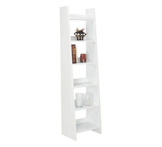 REGAL - bijela, Design, drvni materijal (55/205/38cm) - Xora