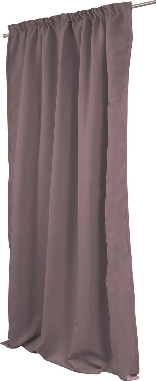 LÄRMSCHUTZVORHANG  Verdunkelung  145/260 cm - Schlammfarben, Textil/Metall (145/260cm)