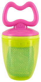 FRUCHTSAUGER - Pink/Gelb, Basics, Kunststoff/Textil (5,5cm) - MY BABY LOU