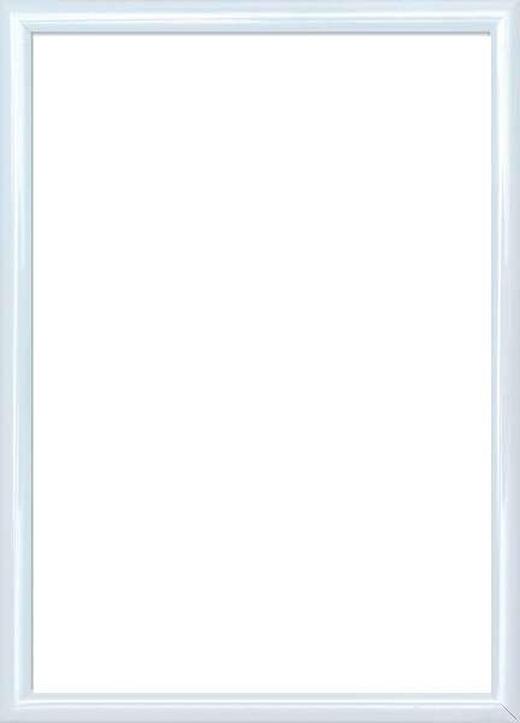 BILDERRAHMEN  Weiß - Weiß, Basics, Glas/Kunststoff (25/31cm)