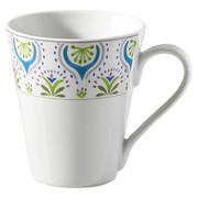 KAFFEEBECHER 280 ml - Blau/Weiß, Basics, Keramik (0,28l) - Ritzenhoff Breker
