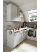 KUCHYŇSKÝ BLOK - bílá/barvy dubu, Design, kompozitní dřevo - Celina