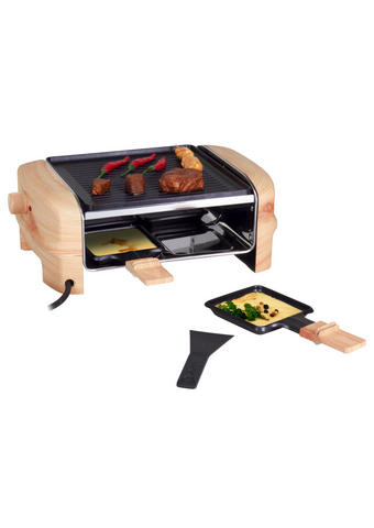 Raclette-grill  - Beige, Basics, Kunststoff/Metall (33/22/11.5cm)