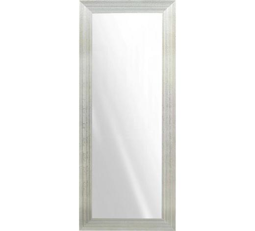 WANDSPIEGEL  75/185 cm  - Silberfarben, Design, Glas/Holz (75/185cm)