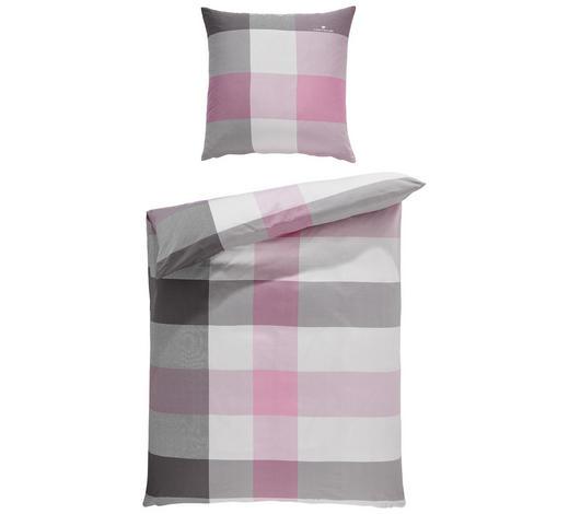 Bettwasche Satin Grau Rosa 135 200 Cm Online Kaufen Xxxlutz