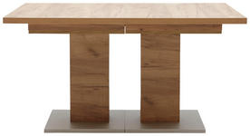 ESSTISCH rechteckig Eichefarben - Eichefarben, Design (140(260)/90/75cm) - Dieter Knoll