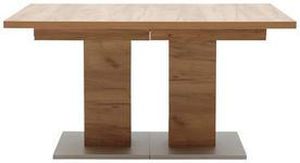 ESSTISCH in Eichefarben - Eichefarben, Design, Holzwerkstoff (140(260)/90/75cm) - Dieter Knoll