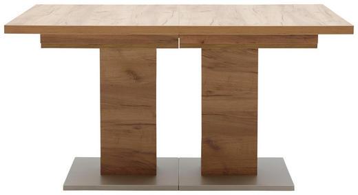 ESSTISCH in Holzwerkstoff 140(260)/90/75 cm - Eichefarben, Design, Holzwerkstoff (140(260)/90/75cm) - Dieter Knoll