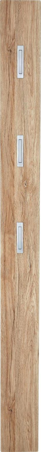 GARDEROBENPANEEL - Eichefarben, Design, Holzwerkstoff (15/170/4cm) - XORA