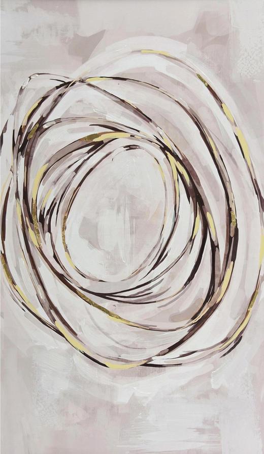 Zen BILD - Multicolor, Design, Holz/Textil (70/120cm) - Monee