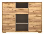 KOMMODE Eichefarben - Eichefarben, Design, Holz/Holzwerkstoff (142/111/41cm) - Linea Natura