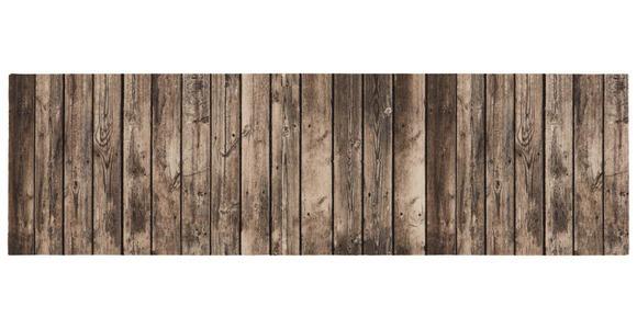 LÄUFER  Wood  - Braun, Basics, Kunststoff (65cm) - Esposa