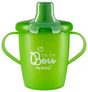 BARNMUGG - grön, Basics, plast (7cm) - My Baby Lou