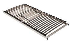 LATTENROST 100/200 cm  - Anthrazit/Hellgrau, Basics, Holz (100/200cm) - Sleeptex