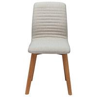 STUHL Beige  - Beige, ROMANTIK / LANDHAUS, Holz/Textil (44/92/45cm) - Kare-Design