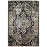 FLACHWEBETEPPICH  80/150 cm  Blau, Braun, Schwarz, Beige   - Blau/Beige, Design, Naturmaterialien/Textil (80/150cm) - Novel