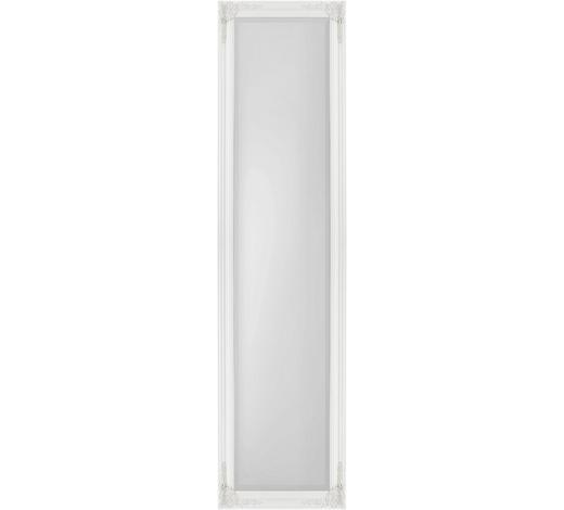 STOJACÍ ZRCADLO, 45/180/3,3 cm,  - bílá, Lifestyle, dřevo (45/180/3,3cm) - Landscape