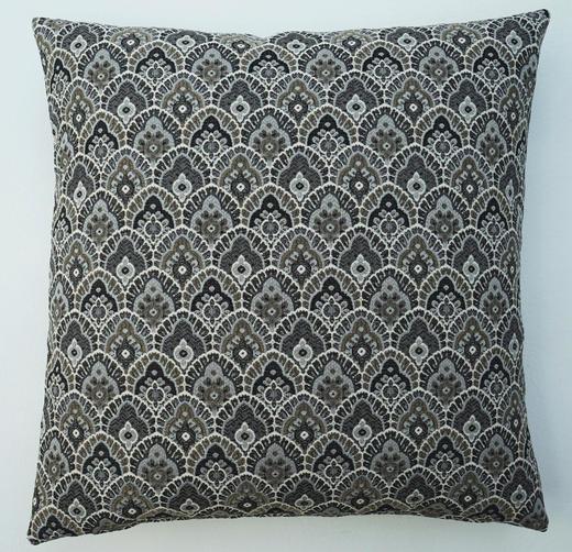 KISSENHÜLLE Anthrazit 45/45 cm - Anthrazit, Basics, Textil (45/45cm) - Ambiente