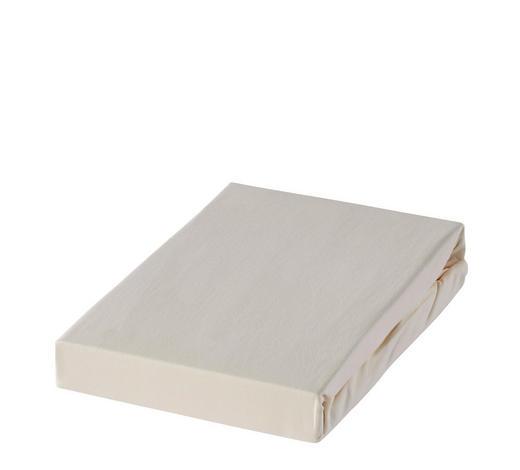 BOXSPRING-SPANNBETTTUCH - prirodne boje, Basics, tekstil (180-200/220cm) - Novel