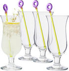 Cocktailglas-Set 8-teilig - Transparent, Basics, Glas (17,10/20,20/17,10cm) - LEONARDO