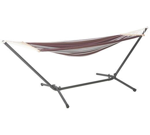 VISEČA MREŽA - svetlo rjava/črna, Design, kovina/tekstil (300/120/100cm) - Ambia Garden