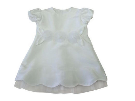 TAUFKLEID - Weiß, Basics, Textil (62) - My Baby Lou
