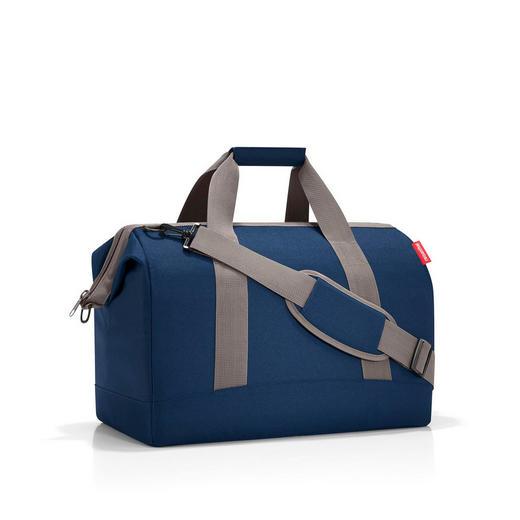 ALLROUNDER L DARK BLUE - Dunkelblau, Basics, Textil (48/39,5/29cm) - Reisenthel