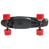 SKATEBOARD AX01 FUN - Schwarz, KONVENTIONELL, Kunststoff (15/59cm)