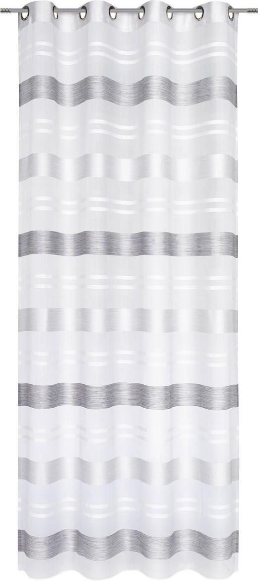 ÖSENSCHAL  halbtransparent  135/245 cm - Grau, Basics, Textil (135/245cm) - Esposa