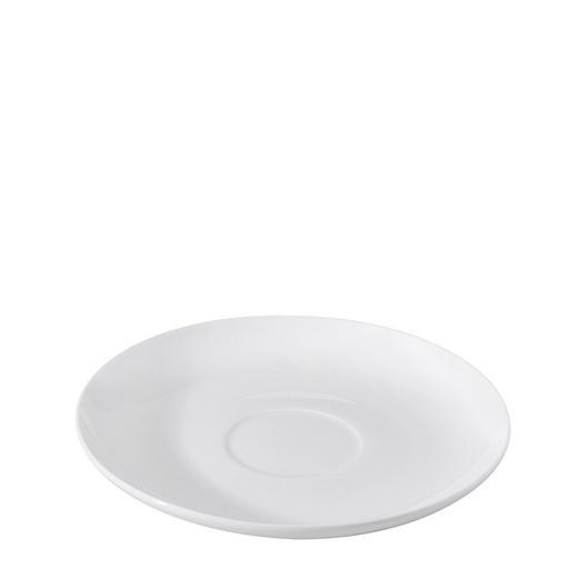 UNTERTASSE - Weiß, Basics, Keramik (18cm) - Novel