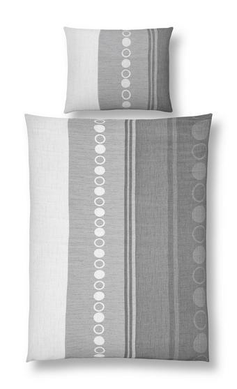 POSTELJINA - siva, tekstil (140/200cm) - ESPOSA