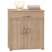 KOMODA, hrast sonoma - hrast/hrast sonoma, Design, umetna masa/leseni material (60/70/30cm) - Boxxx