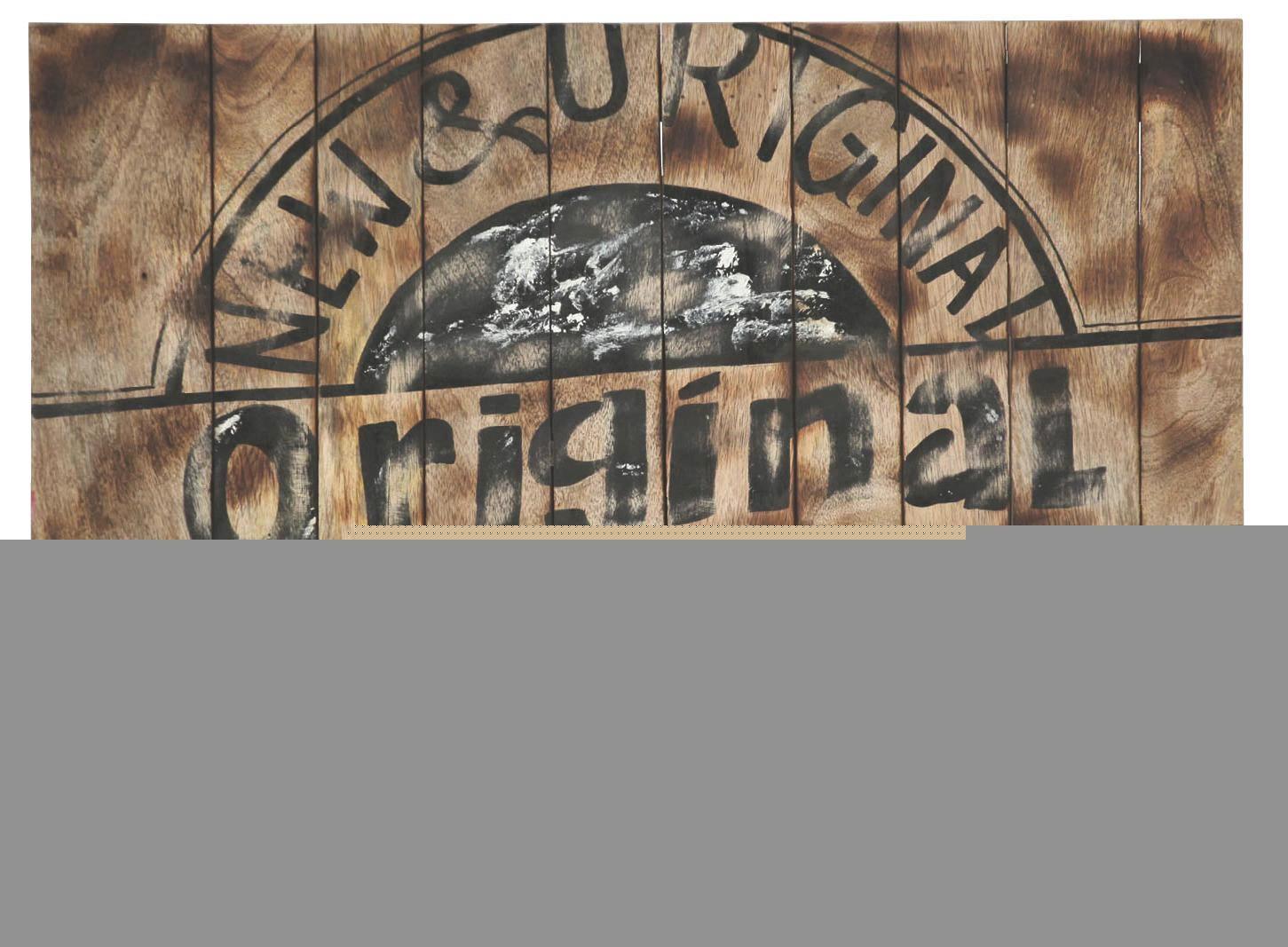 WANDDEKO Holz - Design, Holz (80/60/6cm)