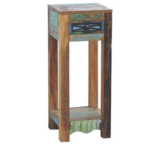 ODKLÁDACÍ STOLEK, starodřevo, vícebarevná - vícebarevná, Lifestyle, dřevo (30/30/75cm) - Landscape