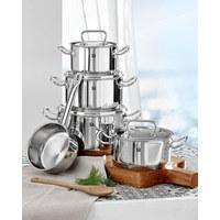 5/1 SET POSOD TWIN - srebrna/nerjaveče jeklo, Basics, kovina - Zwilling