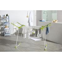 Pegasus 180 Standtrockner - Weiß/Grün, Basics, Metall (96/105/72cm) - Leifheit