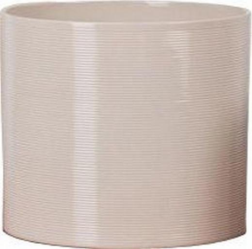 ÜBERTOPF - Creme, Basics, Keramik (23/23/21cm)